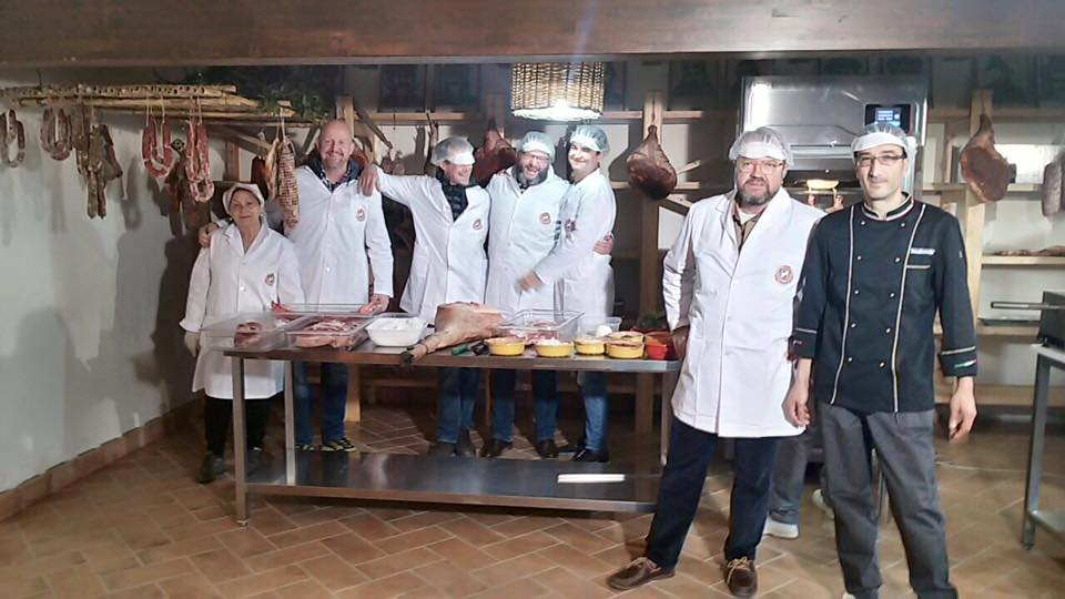 International master class for traditional salami l for Arredo inox crotone